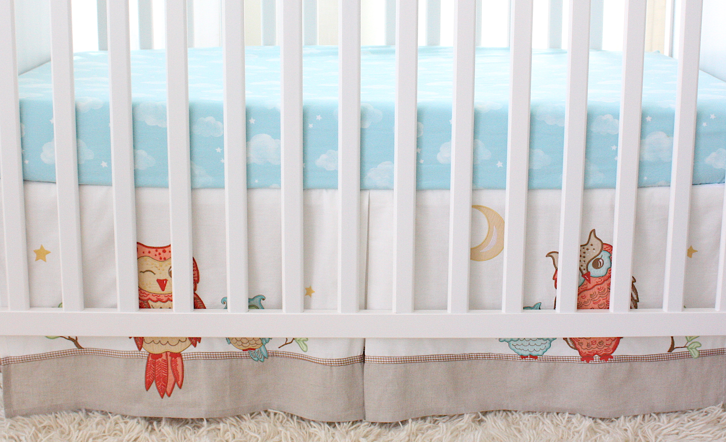 ruffle cribs crib and toddler bed or skirt beds for gathered dust